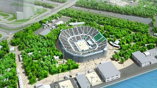 Shiokaze Park Stadium - Tokyo 2020 Beach Volleyball Venue